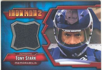 Iron Man 2 Memorabilia Card IMC-1 Tony Stark Blue
