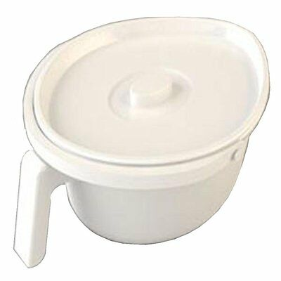 NRS Healthcare Spare Standard Oval Pan for Zenith Bariatric/Heavy Duty Commode