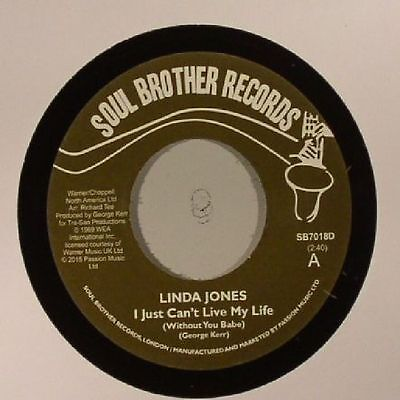"JONES, Linda - I Just Can't Live My Life (Without You Babe) - Vinyl (7"")"