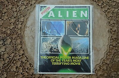 1979 Alien official poster magazine - superb condition - immaculate! UK version.