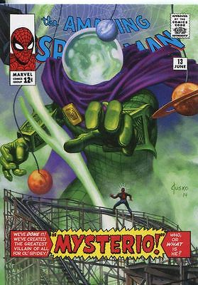 Marvel Masterpieces 2016 ''What If'' Base Card #28 Mysterio #/ 1499