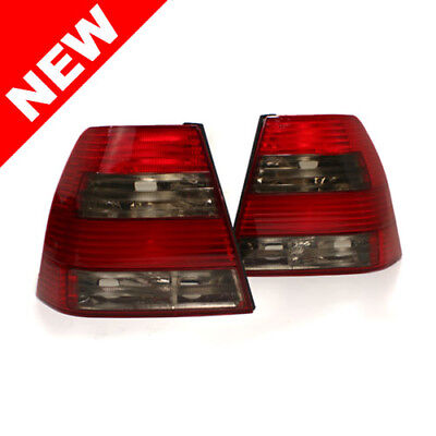 99-05 Vw Jetta/bora Mk4 Sedan Taillights - Red/smoke/red/smoke