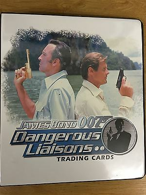 James Bond Dangerous Liaisons Official Rittenhouse Binder