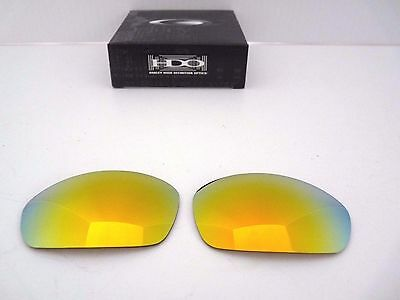 Authentic Oakley Straight Jacket Fire Iridium Replacement Lenses 16-559