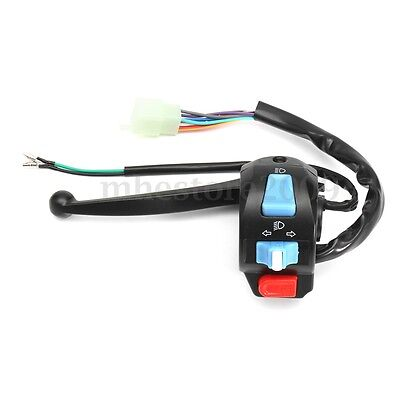 "Universal 7/8"" Motorcycle GY6 50cc 150cc Left Brake Lever Light Switch Control"