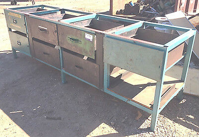 Industrial Heavy Duty Steel Workbench Bench Frame With 7 Drawers
