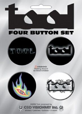 Tool - 4 x 4cm Button Set