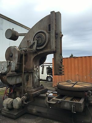 Vintage Slotting Machine Industrial Piece Of Art #b