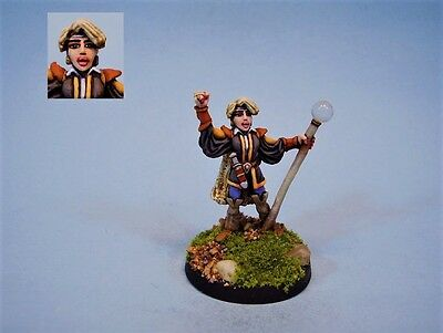 Ral Partha painted miniature Female Mage (30 day listing)