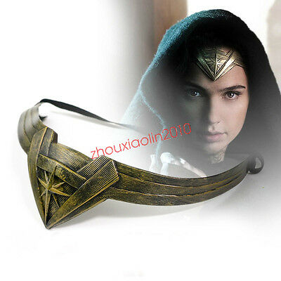 Superhero DC Wonder Woman Cosplay Head Accessory Headband 2017 Movie Cool