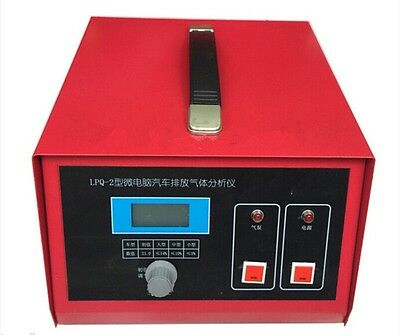 New Vehicle Emission Gas Analyzer Tail Gas Analyzer Detect Oxygen Content  E