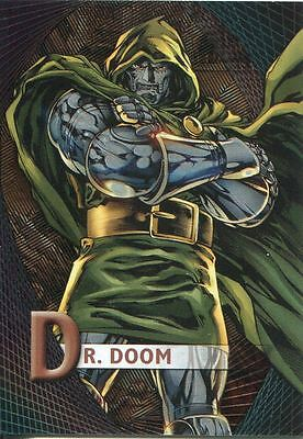Marvel Beginnings Series 2 Micromotion Chase Card M-15 Doctor Doom