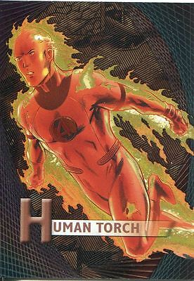 Marvel Beginnings Series 2 Micromotion Chase Card M-24 Human Torch