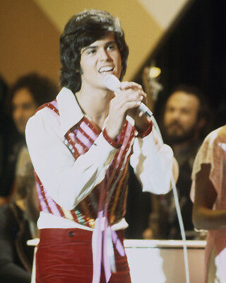 Donny Osmond Iconic Young Pose in Concert 1973 Poster or Photo