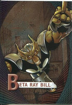 Marvel Beginnings Series 2 Micromotion Chase Card M-3 Beta Ray Bill