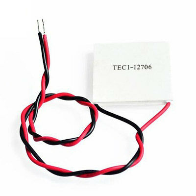 TEC1-12706 58-65W Heatsink DIY Thermoelectric Coolers Cooling Ice Peltier White
