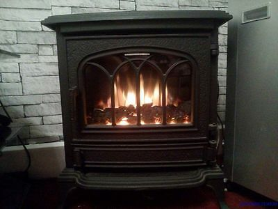 Canterbury Electric Coal Fire Stove Cast Iron Fully Working