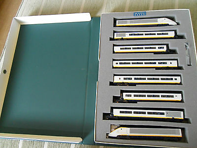 KATO  10-327 N scale Eurostar 8 Car set , EXCELLENT CONDITION!