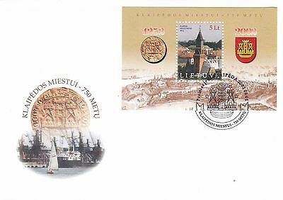 Lithuania 2002 750th Anniversary of Klaipeda Unadressed FDC