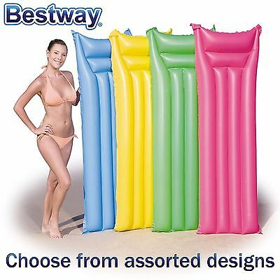 Bestway - Inflatable Matte Swimming Pool LILO FLOAT LOUNGER Beach AIR MAT