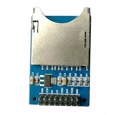 Secure Digital Memory Card Module Slot Socket Reader For Arduino ARM MCU NEW HT