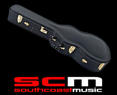 Premium Dreadnought Acoustic Guitar Hard Case Plush Lined Hardcase