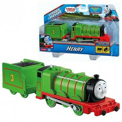 Thomas and Friends - Locomotive Henry - Trackmaster Revolution Mattel