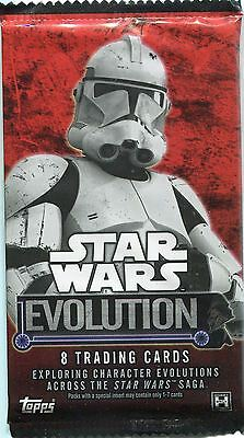 Star Wars Evolution 2016 Factory Sealed Hobby Packet / Pack