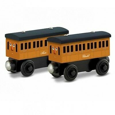 Thomas and Friends - Annie & Clarabel - Wooden Railway Mattel