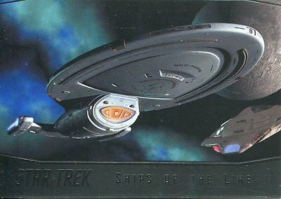 Star Trek 50th Anniversary [2017] Ships Of The Line Chase Card SL26 Voyager