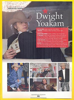 Dwight Yoakam, Country Music Star in 2014 Magazine Clipping, Jack of All Trades