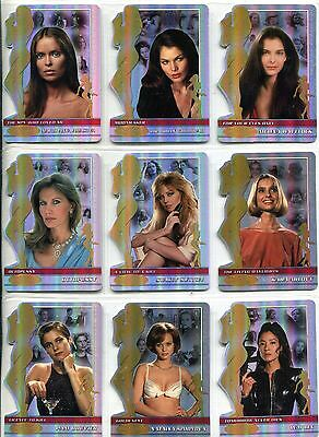James Bond 40th Anniversary Complete Women Of Bond Chase Card Set BW001-0019