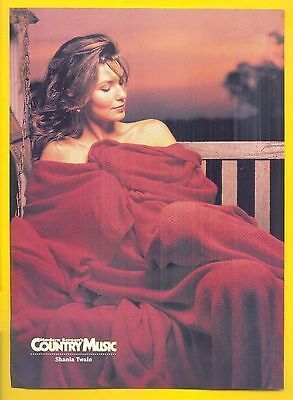 Shania Twain, Country Music Star in 1995 Magazine Print Photo Clipping