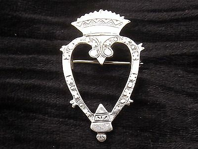 Vintage Sterling Silver Brooch LUCKENBOOTH  CAI IONA Dawson Bowman  Scottish
