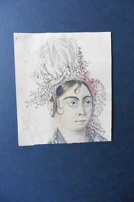 FRENCH SCHOOL 19thC - GREEK FIGURE STUDIES CONSTANTINOPLE - INK AND WATERCOLOR