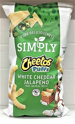 Simply Cheetos White Cheddar Jalapeno Puffs 7.75 oz