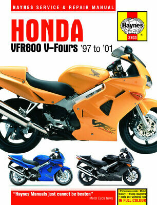 NEW HAYNES MANUAL HONDA VFR 800 Fi-1 2001 (RC46)