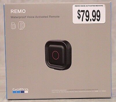 GoPro REMO Waterproof Voice Activated Remote GVRC1 New Free Shipping