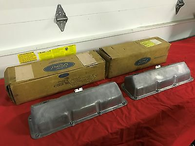 Nos 69-70 Ford Mustang Boss 302 Valve Covers C9Zz-6582-C