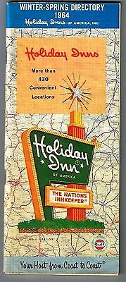 Gulf Oil Holiday Inns Winter Spring Directory 1964 New York World Fair 75 pages