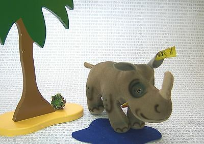 STEIFF altes NASHORN NOSY 1110/12 KFS * old RHINOCEROS all ID