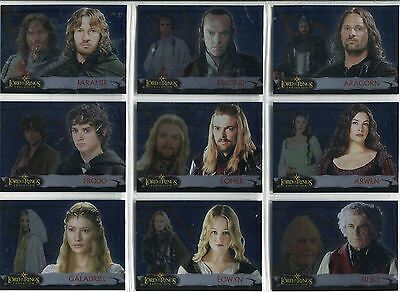 Lord Of The Rings Evolution Complete Evolution B Chase Card Set 1B-12B