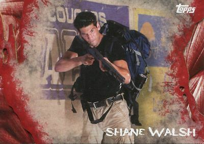 Walking Dead Survival Box Short Print Base Card #9 Shane Walsh