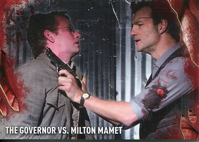 Walking Dead Survival Box Kill Or Be Killed Chase Card #5 Governor vs. Milton