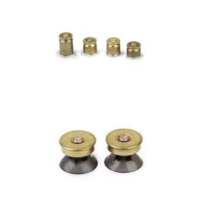 ABXY Brass 2 Thumbsticks & 4 Bullet Buttons for Xbox One Game Controller
