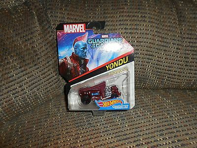 Hot Wheels Marvel Yondu- red-Guardians Of The Galaxy Vol. 2. New!