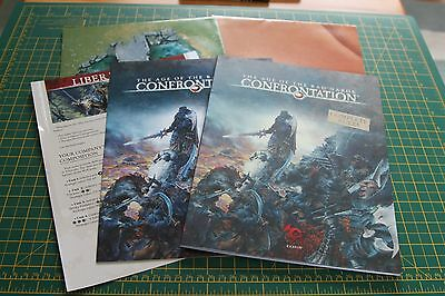 CONFRONTATION - The Age of Rag'Narok - COMPLETE RULES - Game play maps - RACKHAM