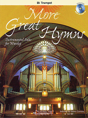 More Great Hymns Trumpet Solo Christian Sheet Music Play-Along Book CD Pack NEW