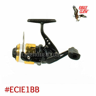Eagle Claw Ice Eagle Spinning Reel Pre Spooled with Line Clam Pack #ECIE1BB