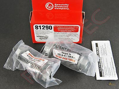 SPC Performance 81290 EZ Cam XR 17mm Adjustable Camber Bolts +/-1.75 Degree
